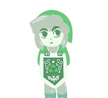 Link is Small by ferrellghoul