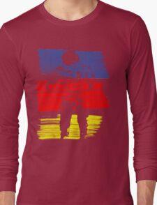 astro stripe Long Sleeve T-Shirt