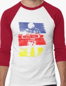 astro stripe Men's Baseball ¾ T-Shirt