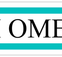Chi Omega Bars Sticker