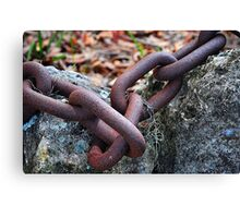 Chain Links Canvas Print