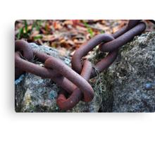 Chain Links Canvas Print