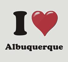 I Heart / Love Albuquerque by HighDesign