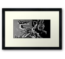 Mother Earth, Father Time Framed Print
