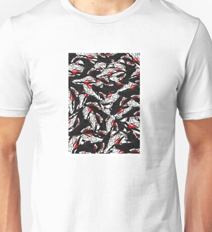 Jordan 8 Artwork Unisex T-Shirt