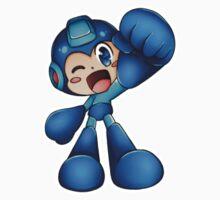 MegaMan - Sticker Kids Clothes