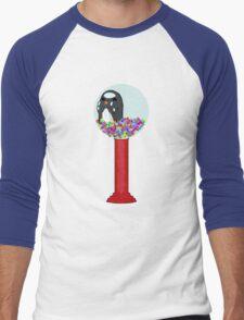 Penguin Machine Men's Baseball ¾ T-Shirt