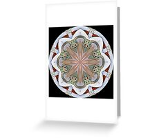 Elephant Parade Kaleidoscope #1 Greeting Card