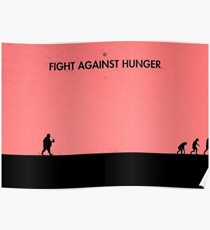 99 Steps of Progress - Fight against hunger Poster