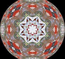 Elephant Parade Kaleidoscope #2 by Roberto Pagani