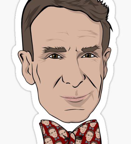 Bill Nye the Bow Tie Guy Sticker