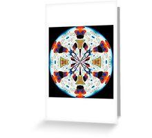 Elephant Parade Kaleidoscope #3 Greeting Card