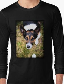 Jessie the Jack Russell Terrier: It's All About the Ball Long Sleeve T-Shirt