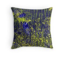 Lime Lights Throw Pillow