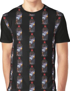 Cosmic Graffiti Graphic T-Shirt