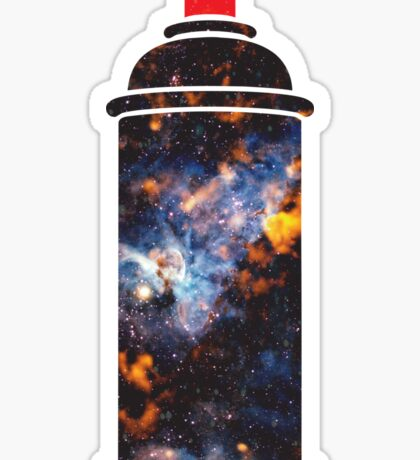 Cosmic Graffiti Sticker