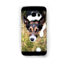 Jessie the Jack Russell Terrier: It's All About the Ball Samsung Galaxy Case/Skin