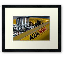 Hemi Power Framed Print
