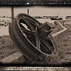 Rusty Wheel by tvlgoddess