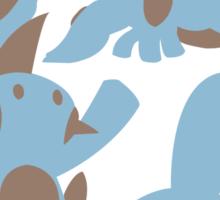Pokemon Evolution Of Mudkip Sticker