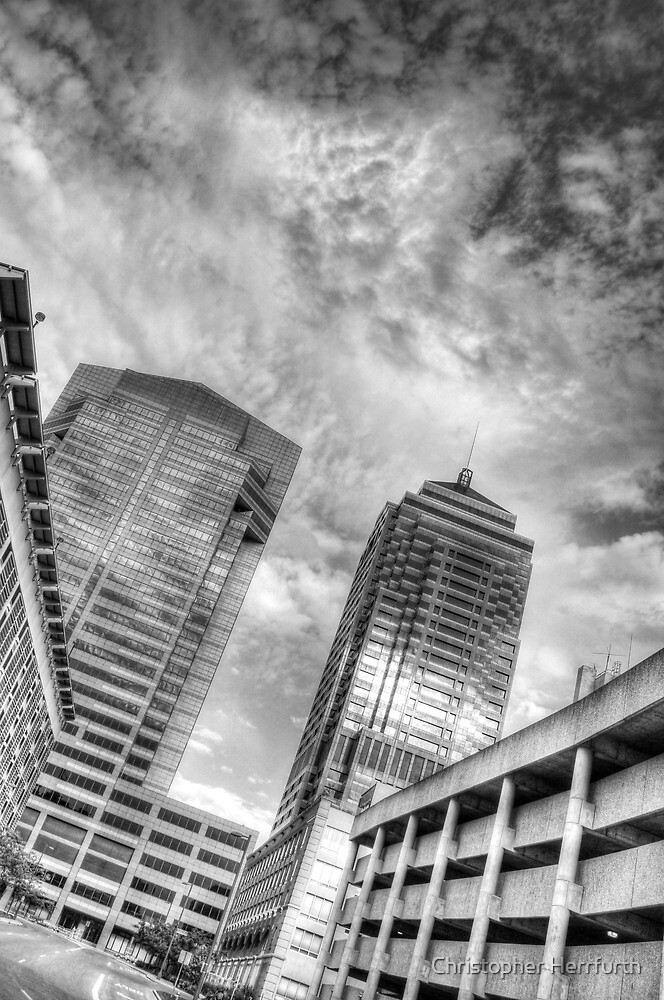 View from the Arena District by Christopher Herrfurth