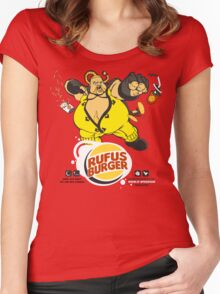 Burger Brawler Women's Fitted Scoop T-Shirt