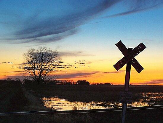 Twilight Crossing by Greg Belfrage