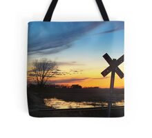 Twilight Crossing Tote Bag