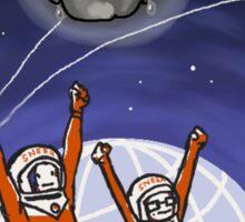 Sneer Campaign Cosmonauts Sticker