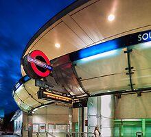 Southwark Station by JzaPhotography