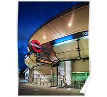 Southwark Station Poster