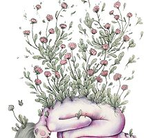 """From my rotting body, flowers shall grow and I am in them and that is eternity."" by Kate Powell"