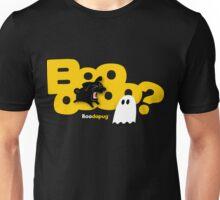 Black Pug BARKING Boo! T-Shirt