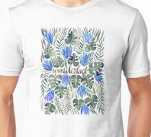 Tropical Wanderlust – Periwinkle Unisex T-Shirt