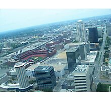 Overlooking Busch Stadium Photographic Print