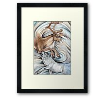The Hunter and Hunted Framed Print