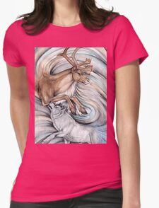 The Hunter and Hunted Womens Fitted T-Shirt