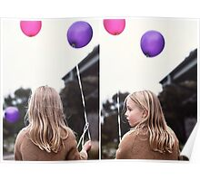 India + Balloons Poster