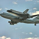 Space Shuttle Flyover by Xcarguy