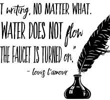 Louis L'Amour Quote by paperbouquet