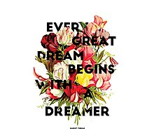 Every Great Dream, 2015 Photographic Print