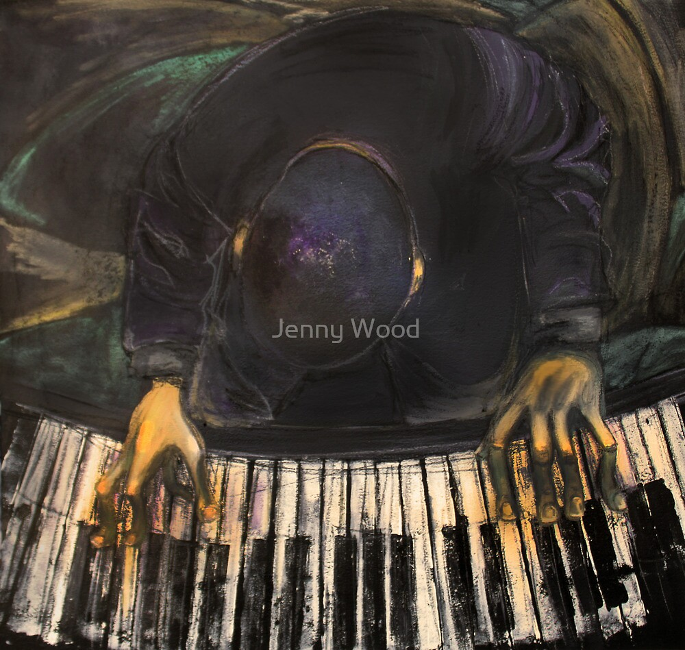 The piano man by Jenny Wood