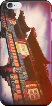 WDW Epcot: The Chinese Pavilion by Konoko479