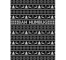 Bah Humbug Christmas Jumper Photographic Print