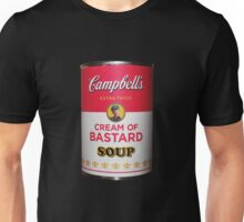 Campbell's Extra Thick Cream of Bastard Soup v.2.0 Unisex T-Shirt