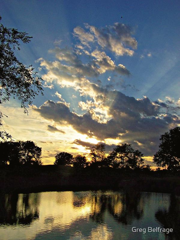 Majestic Skies by Greg Belfrage