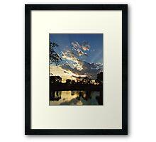 Majestic Skies Framed Print