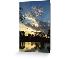 Majestic Skies Greeting Card
