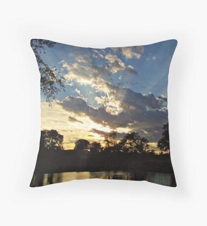 Majestic Skies Throw Pillow