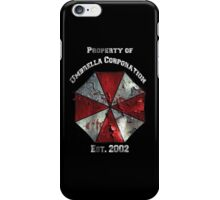 Property of Umbrella Corp Variant iPhone Case/Skin